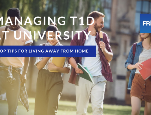 How to manage your Type 1 Diabetes when moving to University