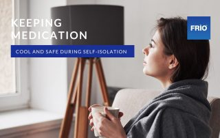 Self isolation and medicine cooling
